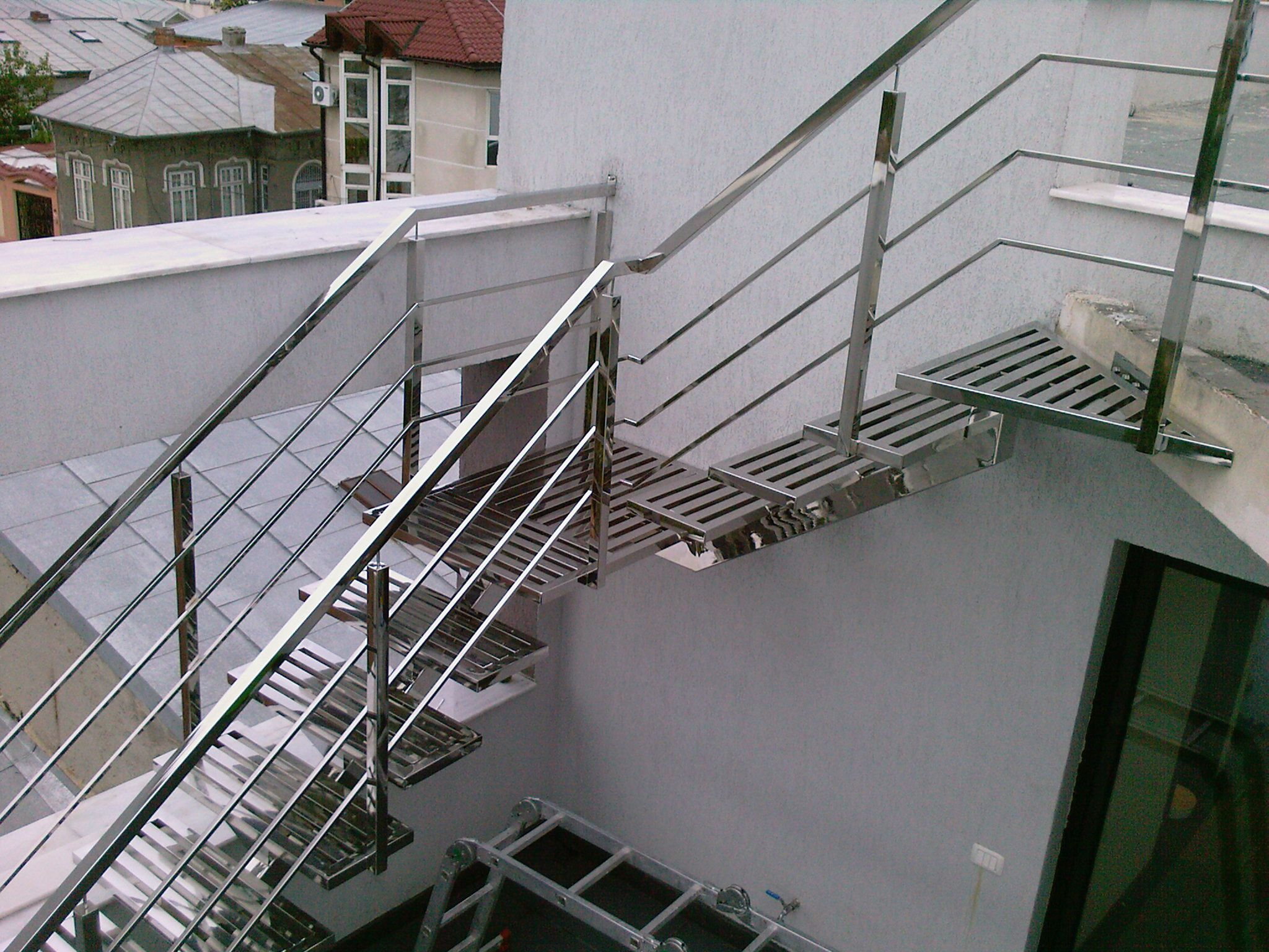 Balustrade inox